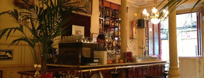 Café Manuela is one of Rincones madrileños..