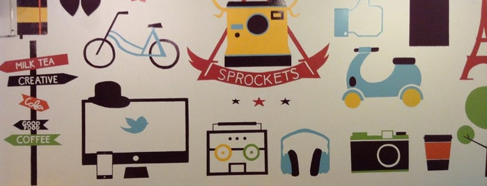 Sprockets Café is one of Coffe or Tea?.