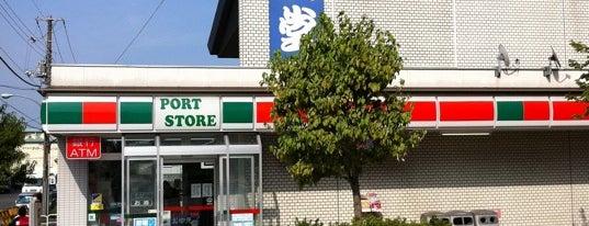 サンクス ポートストア青海店 is one of get JPS.