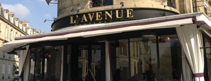 L'Avenue is one of Paris, je mange.