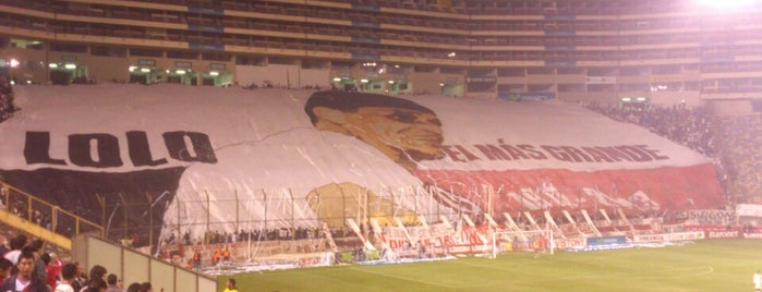 Estadio Monumental is one of Top 10 favorites places in Lima, Peru.