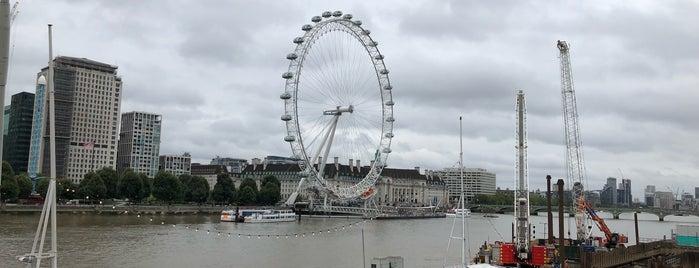 London Eye / Waterloo Pier is one of istiyorumgidicem!!.