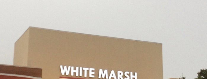 White Marsh Mall is one of Faves.