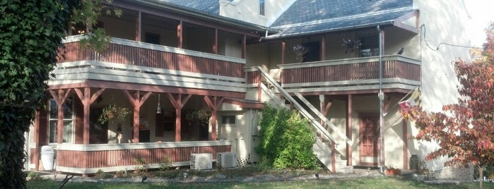 Jacob Rohrbach Inn is one of Best Places to Check out in United States Pt 2.