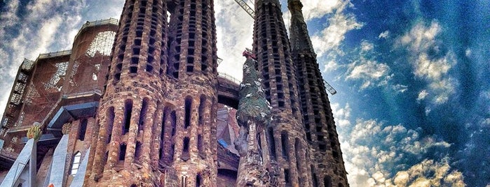 Sagrada Família is one of bcn.