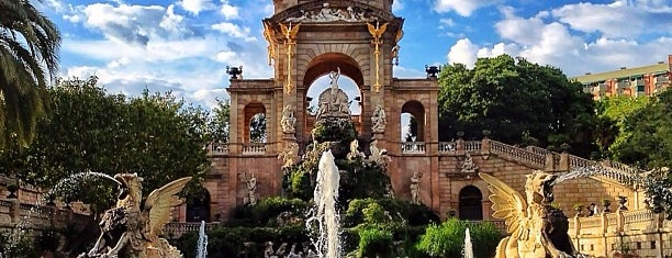 Parque de la Ciudadela is one of Barcelona.