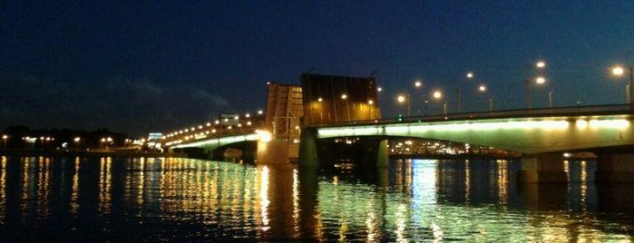 Мост Александра Невского is one of My places.