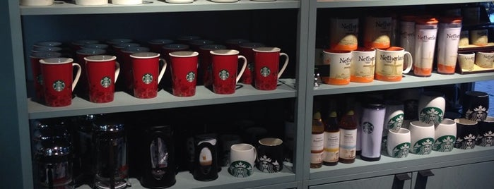 Starbucks is one of Amsterdam.