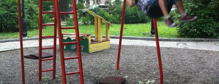 детская площадка (Мариинский Парк) is one of Kyiv.
