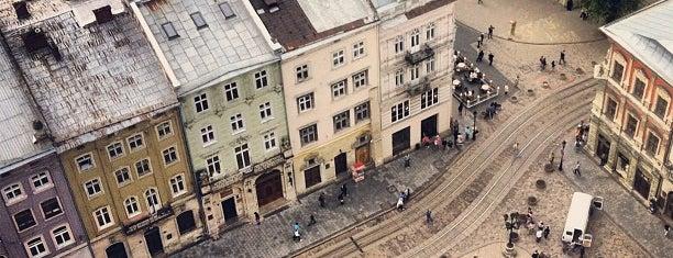 Площадь Рынок is one of Lviv.