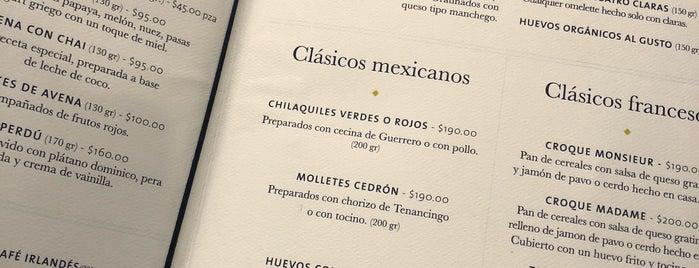 Restaurante Cedrón is one of DF.
