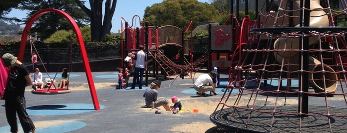 J.P. Murphy Playground is one of SF playgrounds.