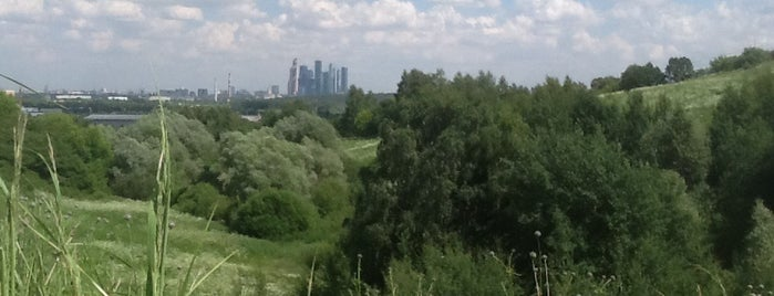Крылатские холмы is one of Сады и парки Москвы.