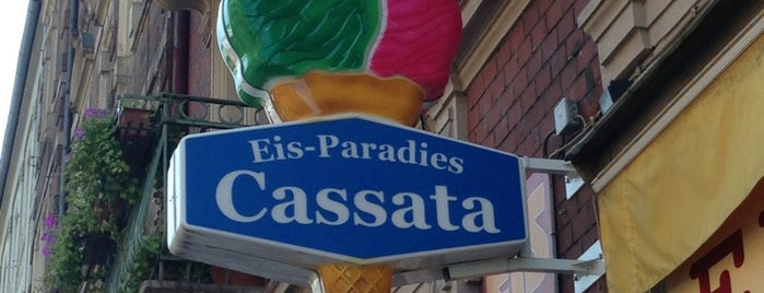 Eis Cassata is one of Karlsruher Treffpunkte.