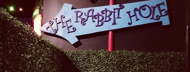 The Rabbit Hole is one of bars.