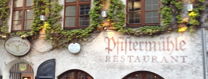 Pfistermühle is one of Munich.