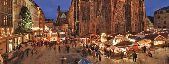 Marché de Noël de la Cathédrale is one of Strasbourg - Capitale de Noël - #4sqcities.