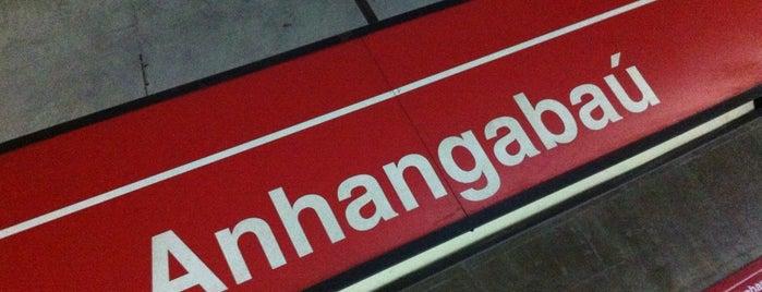 Estação Anhangabaú (Metrô) is one of Transporte.