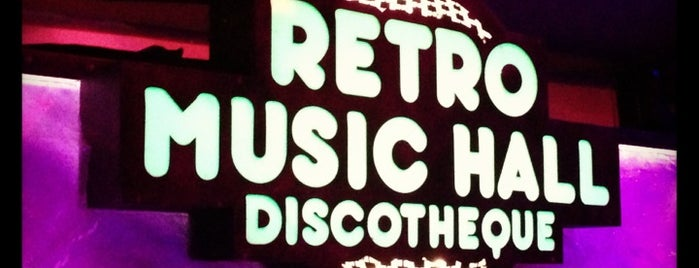 Retro Music Hall is one of Must-visit Nightclubs in Praha.