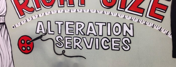 Right Size Alteration Services is one of My Favorite Places Around The Town.