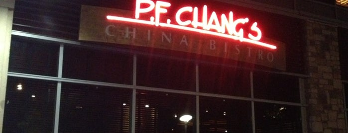 P.F. Chang's is one of faves.