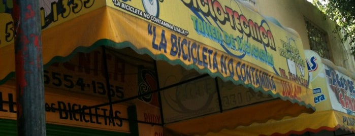 Ciclotécnica is one of Biclas.