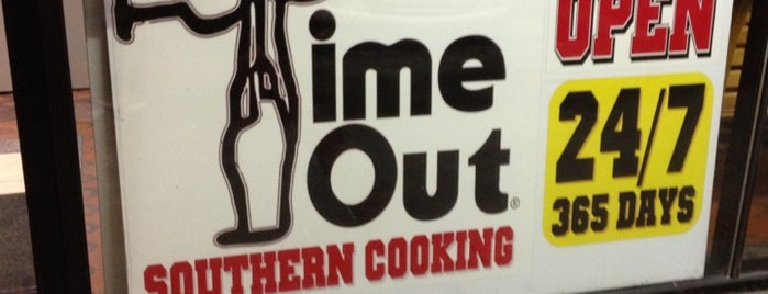 Time-Out Restaurant is one of Southern Soul Restaurants.