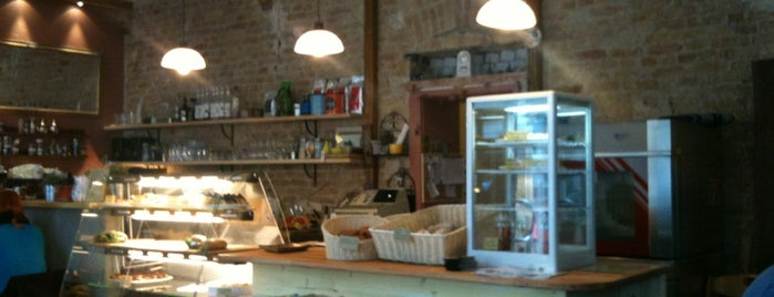 Weder gestern noch morgen is one of The 15 Best Places for Paninis in Berlin.