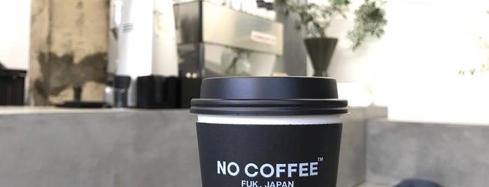 NO COFFEE is one of 大人が行きたいうまい店2 福岡.