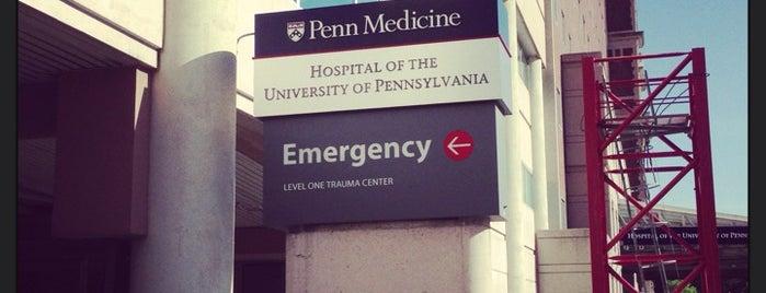 HUP Emergency Room is one of Alyssa's University City.