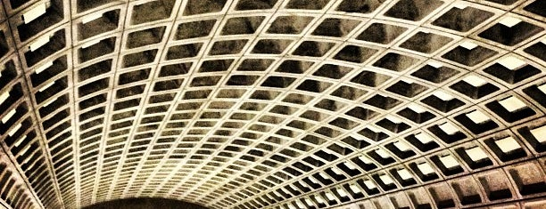 Metro Center Metro Station is one of Favs.