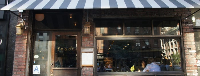 Feast is one of The 15 Best American Restaurants in Greenwich Village, New York.