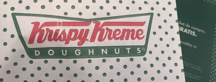 Krispy Kreme is one of cafes-postres-etc.