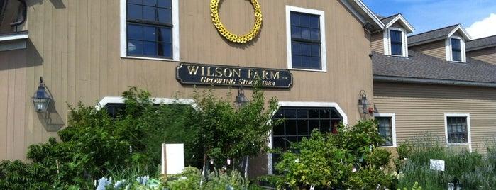 Wilson Farm is one of Boston.