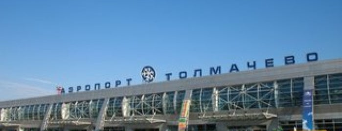 Tolmachevo International Airport (OVB) is one of Airports - worldwide.