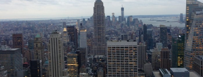 Top of the Rock Observation Deck is one of New York's Best Great Outdoors - 2012.