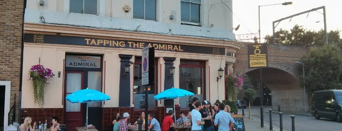 Tapping The Admiral is one of BMAG's Pubs.