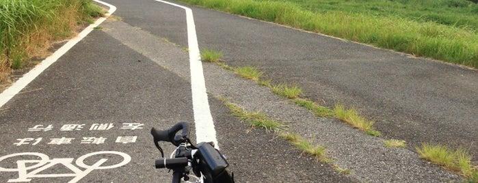 流山橋 is one of サイクリング.