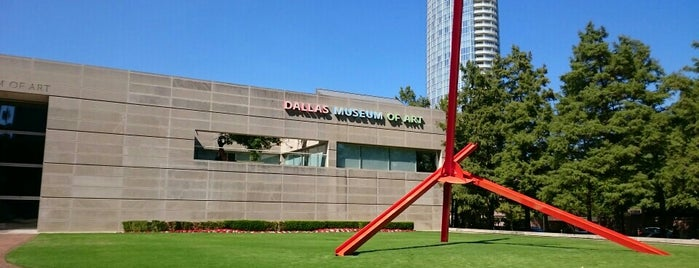 Dallas Museum of Art is one of The Foursquare Insider's Perfect Day in Dallas.