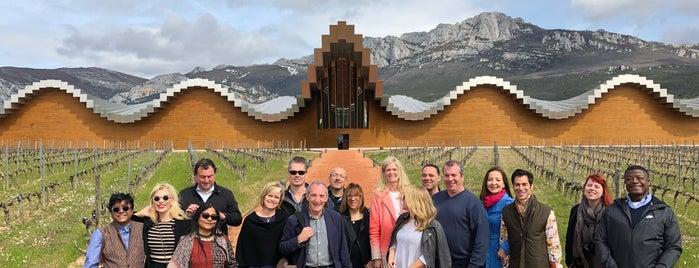 Bodegas Ysios is one of La Rioja in 3 days.