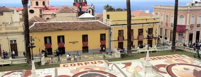Ayuntamiento La Orotava is one of Islas Canarias: Tenerife.