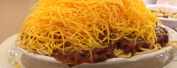 Skyline Chili is one of UD.