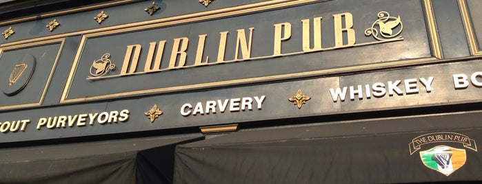 The Dublin Pub is one of UD.