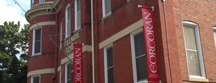Corcoran College of Art + Design - Georgetown Campus is one of DC Museum.