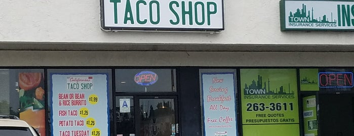 California's Taco Shop is one of San Diego to do list.