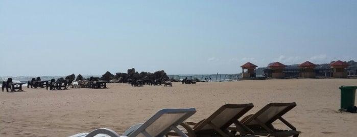 Xəzər çimərliyi / Khazar Beach is one of Absheron Beaches.