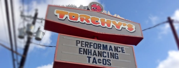 Torchy's Tacos is one of Austin, Texas.