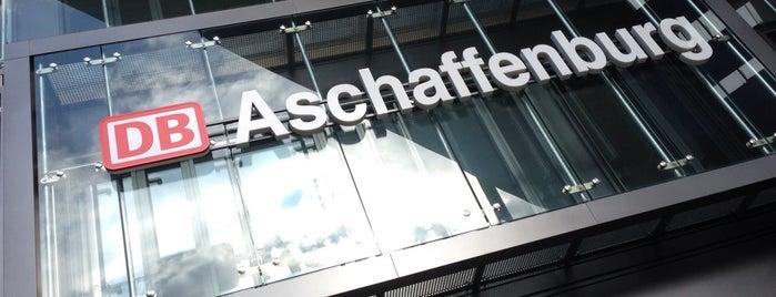 Aschaffenburg Hauptbahnhof is one of Bahnhöfe Deutschland.