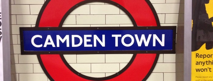 Camden Town is one of Hipster London.