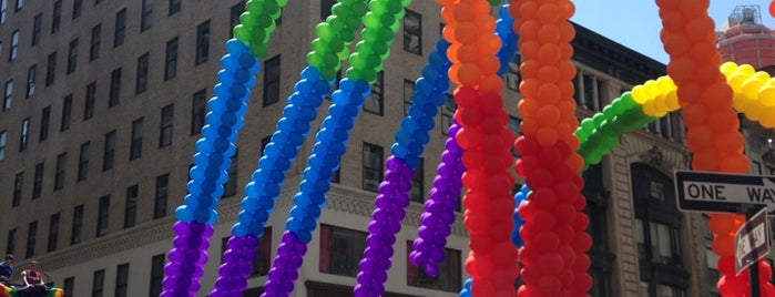 2014 New York Pride March is one of Favourite Places.